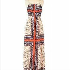 Monteau Maxi 100% Rayon Dress